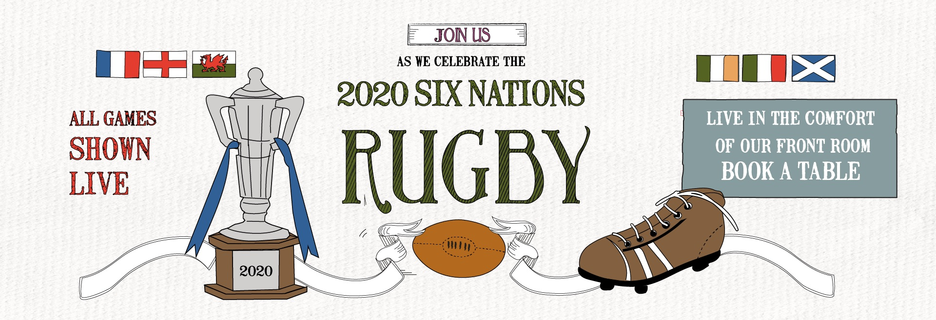 Six Nations at The Woodstock Arms