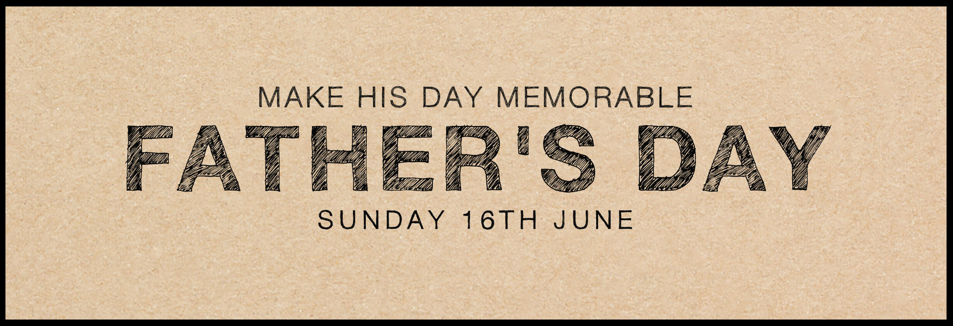 Father's Day at The Woodstock Arms